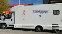 Inaugurata a Norcia l'unità mobile mammografica