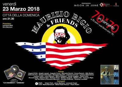 """- 2 a venerdi' 23: Concerto di """"Maurizio Bigio & Friends"""" a Citta' della Domenica"""