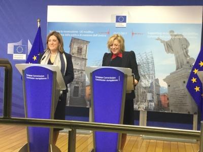 Marini a Bruxelles: garantire reale partenariato UE con Governi e territori