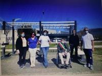 Cresce la palestra a cielo aperto per la comunita' di Foligno; l'impegno del cral Umbragroup