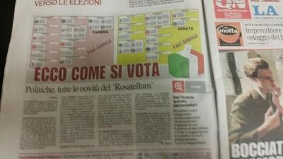 """Elezioni: su La Nazione """"Ecco come si vota"""""""