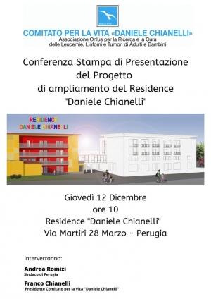 Residence Daniele Chianelli si amplia: domani presentazione progetto