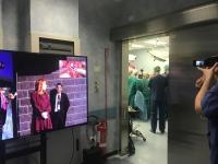 A Terni intervento e teleconsulto in chirurgia a distanza; seguito da oltre 30mila specialisti e chirurghi di tutto il mondo in modalità live multistreaming