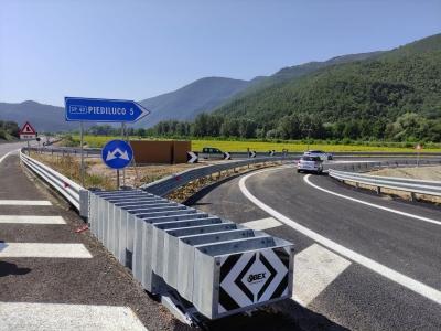 Aperto svincolo su Terni Rieti: fino al 10 agosto in corso alcune ultime attivita'