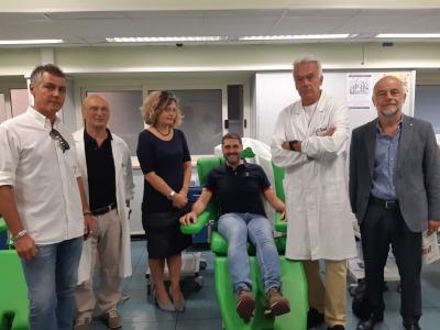 giornalisti e dirigenti AVIS - Medici