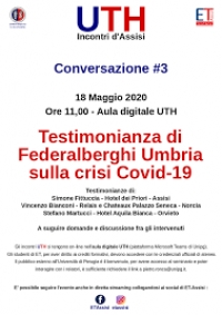 Turismo in Umbria e la necessaria ripresa dopo il Covid-19; Conference-call