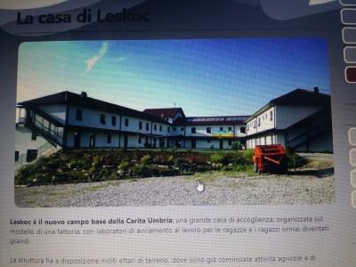 """Inaugurato con un collegamento Italia-Kosovo il nuovo caseificio di """"Casa Umbra"""" a Leskoc"""