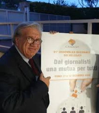 Deceduto il giornalista Elvisio Vinti; lavoro' per anni all'ufficio stampa della Giunta umbra