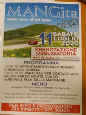 Amici Camep con auto d'epoca sabato 11 a Monte Cucco; prenotatevi