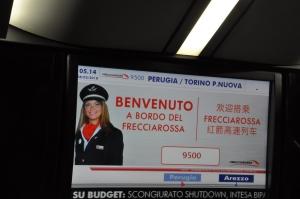 Ferrovie: da domenica 28 riprende il Freccia Rossa Perugia-Milano-Torino