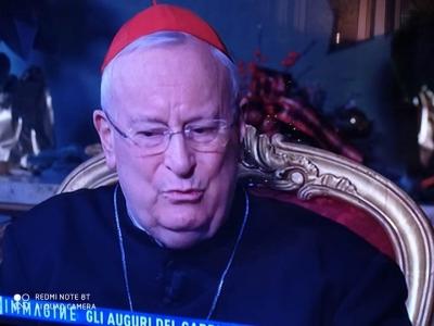 Videomessaggio cardinal Bassetti (CEI) alla propria comunita'. Stasera intervistato da Rai1