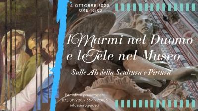 Guide dell'Umbria (AGTU): Domenica 5 ad Orvieto alla scoperta dei marmi del Duomo e le tele al Museo