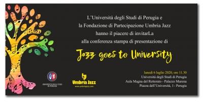 Jazz goes to University: lunedi' conf. stampa - da seguire su You Tube
