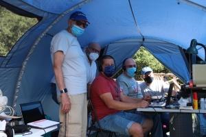 Corciano: i radioamatori scelgono il Colle della Trinità per esercitazioni e il Comune pensa a future collaborazioni