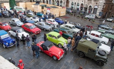Befana: domani auto e  moto storiche in centro a Perugia; doni ai Vigili e una borsa studio
