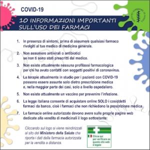 Coronavirus: nota ISS su uso corretto farmaci; contrasto alle fake news