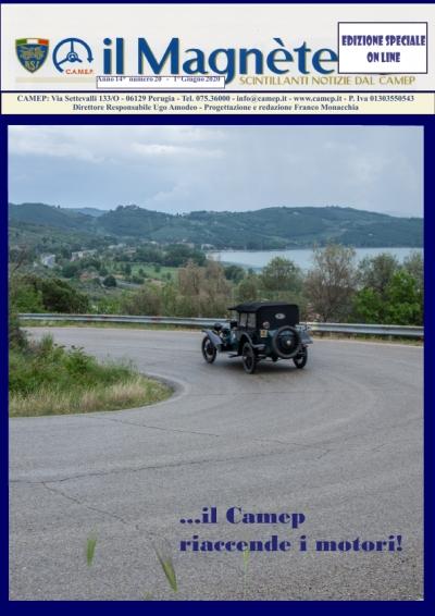 Edizione speciale de Il Magnete organo d'informazione del Camep