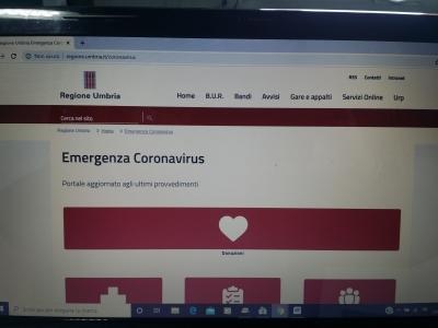 Coronavirus/Umbria: nuovi contagi in flessione (-17); nuovi guariti a +9.274; 71 ricoverati in T.I.