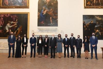 Premi Leonardo alle imprese e migliore tesi: Presidente Mattarella alla Consegna