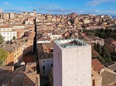 Perugia: La torre degli sciri al centro del progetto 'l'europa nella mia regione'