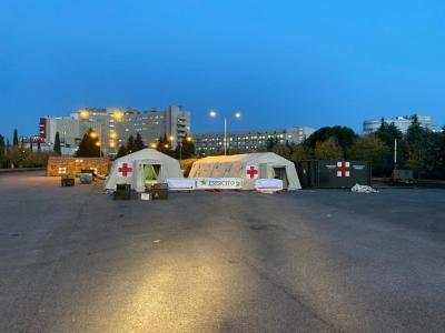 Solidarieta' degli Ufficiali in congedo con i colleghi ospedale da Campo esercito