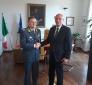 Procuratore gen. Cardella riceve nuovo comandante Umbria GDF Gen. Lipari