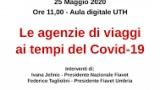 Covid19 e responsabilità degli operatori turistici: incontro in streaming con Damiano Marinelli,