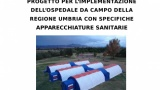 Coronavirus/Umbria: presentato ospedale da campo (30 posti); Tesei: