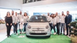 La  nuova Fiat 500 Hybrid:  in anteprima alla Marchi auto di Bastia Umbra