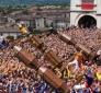 Festa dei Ceri: Gubbio rievoca straordinaria Corsa in citta' e sul monte Ingino